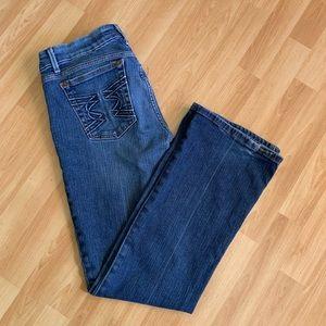 Joe's jeans sz 28 medium wash provocateur fit boot